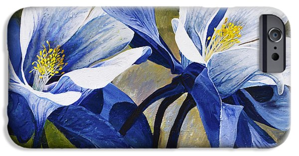 Colorado Columbines IPhone Case by Aaron Spong