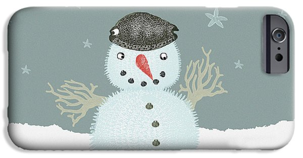 Dressing Up For Christmas IPhone Case by Helle Koie