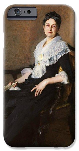 Elizabeth Allen Marquand IPhone Case by John Singer Sargent