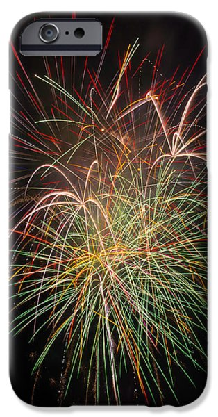 Fantastic Fireworks IPhone Case by Garry Gay