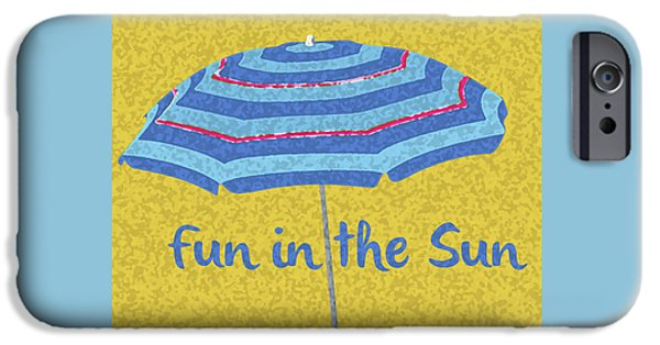 Fun In The Sun IPhone Case by Edward Fielding