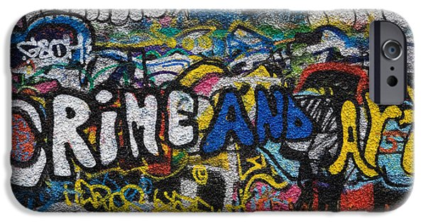 Grafitti On The U2 Wall, Windmill Lane IPhone 6s Case by Panoramic Images