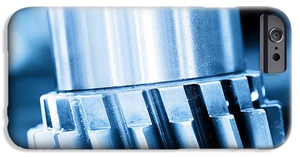 Heavy Industrial Element Screw IPhone Case by Michal Bednarek