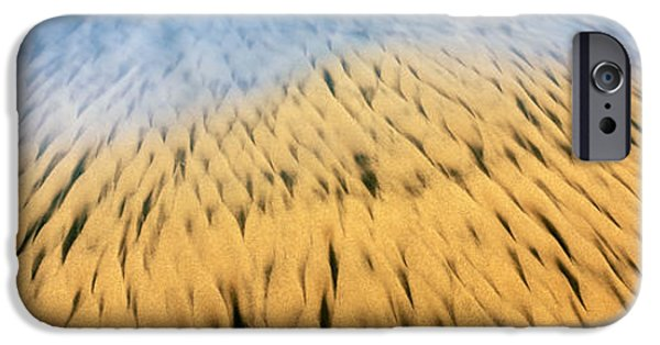 High Angle View Of Waves Create IPhone Case by Panoramic Images
