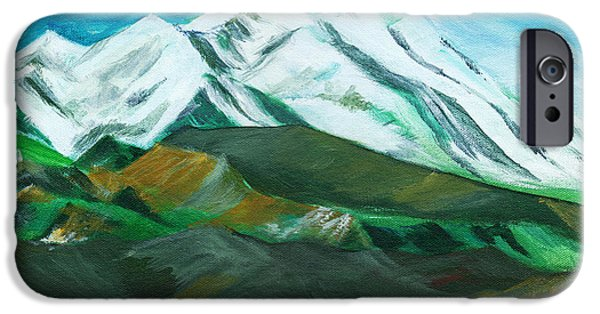 Himalaya IPhone Case by Anil Nene