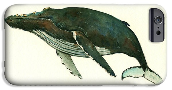 Humpback Whale  IPhone 6s Case by Juan  Bosco