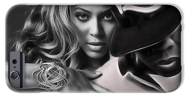 Jay Z Beyonce Collection IPhone 6s Case by Marvin Blaine