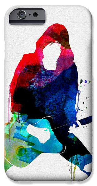 Johnny Watercolor IPhone Case by Naxart Studio