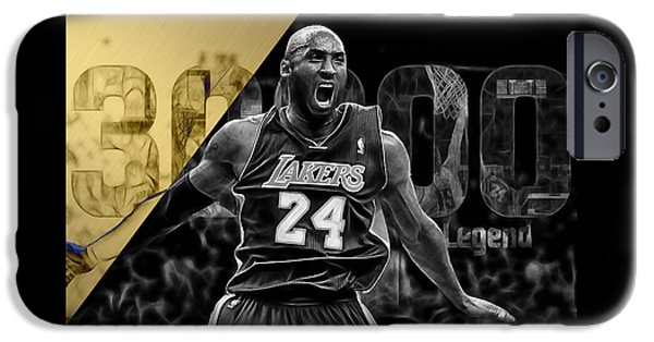 Kobe Bryant Collection IPhone 6s Case by Marvin Blaine