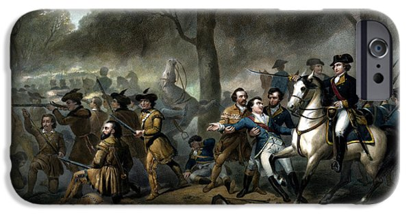 Life Of George Washington -- The Soldier IPhone Case by War Is Hell Store