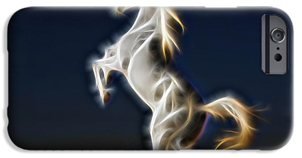 Lightning IPhone Case by Marvin Blaine
