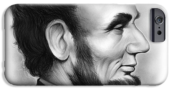 Lincoln IPhone Case by Greg Joens