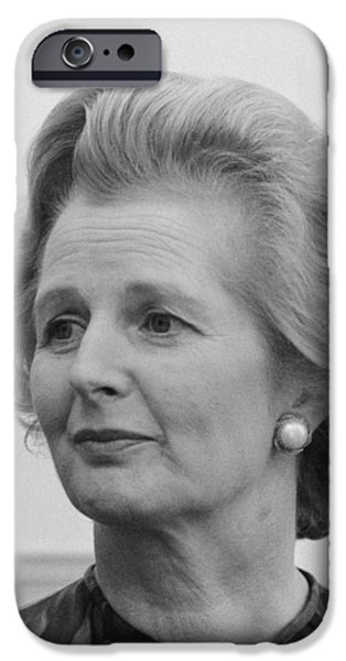 Margaret Thatcher IPhone Case by War Is Hell Store