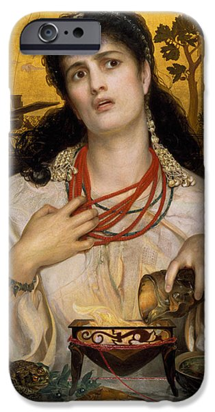 Medea IPhone Case by Frederick Sandys