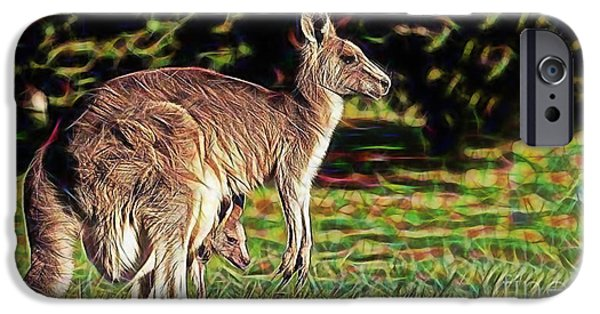 Mom And Child IPhone Case by Marvin Blaine