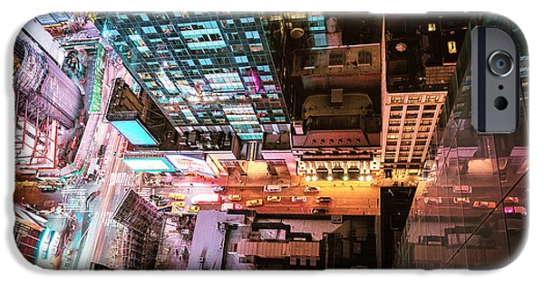 New York City - Night IPhone 6s Case by Vivienne Gucwa