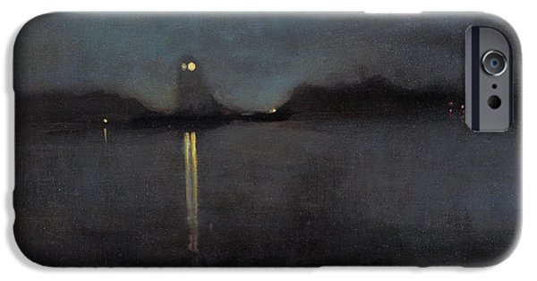 Nocturne IPhone Case by James Abbott McNeill Whistler