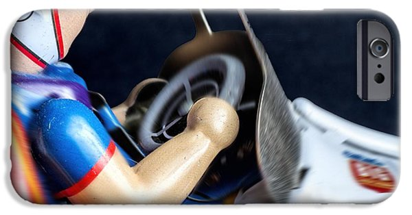 Old Race Car IPhone Case by Rudy Umans