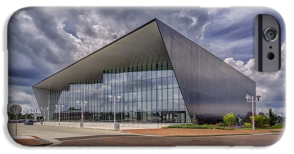 Owensboro Kentucky Convention Center IPhone Case by Wendell Thompson