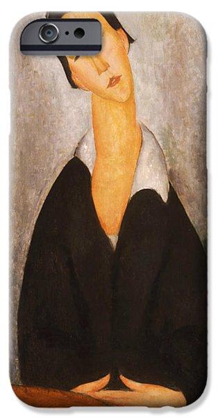 Portrait Of A Polish Woman IPhone Case by Amedeo Modigliani