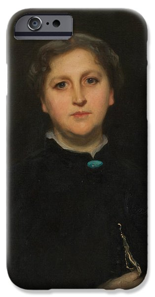 Portrait Of Mrs Raphael Pumpelly IPhone Case by John Singer Sargent