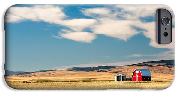 Prairie Red IPhone Case by Todd Klassy