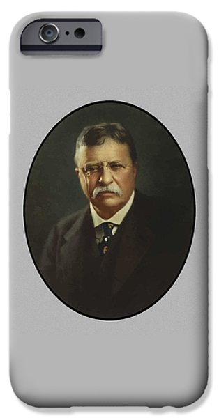 President Theodore Roosevelt  IPhone 6s Case by War Is Hell Store
