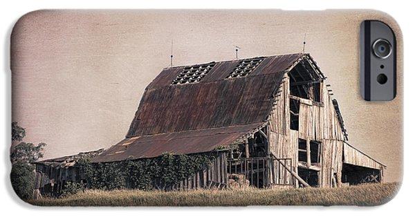 Rustic Barn IPhone Case by Tom Mc Nemar