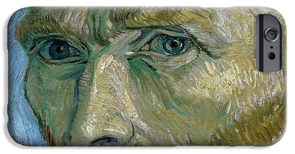 Self-portrait IPhone Case by Vincent Van Gogh
