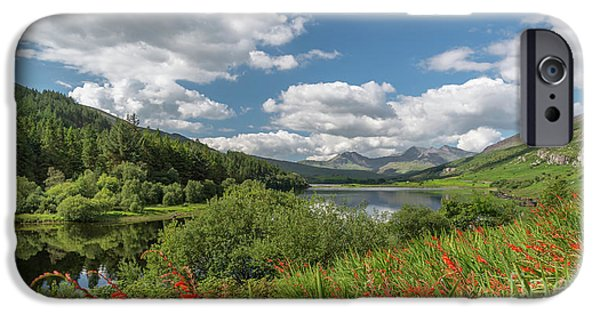 Snowdonia Lake IPhone Case by Adrian Evans