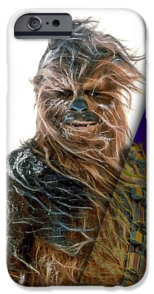 Star Wars Chewbacca Collection IPhone 6s Case by Marvin Blaine