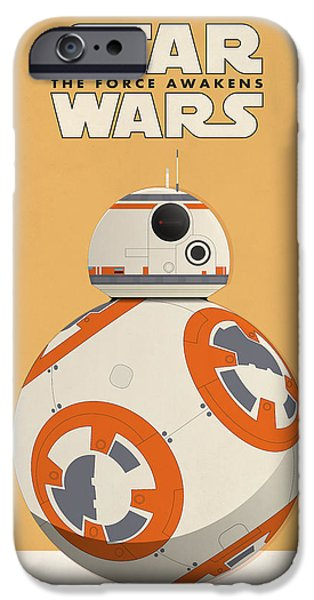 Star Wars - The Force Awakens IPhone Case by Farhad Tamim
