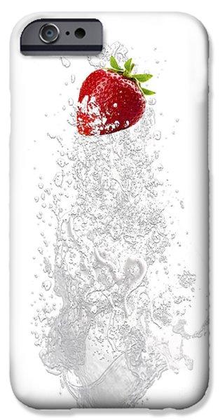 Strawberry Splash IPhone 6s Case by Marvin Blaine