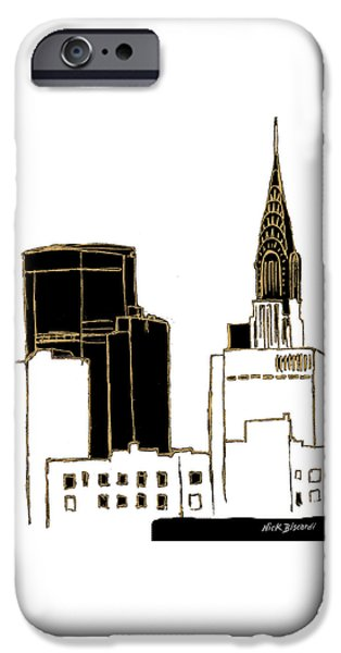 Tenement Empire State Building IPhone 6s Case by Nicholas Biscardi