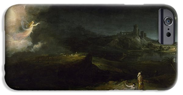The Angel Appearing To The Shepherds IPhone Case by Thomas Cole