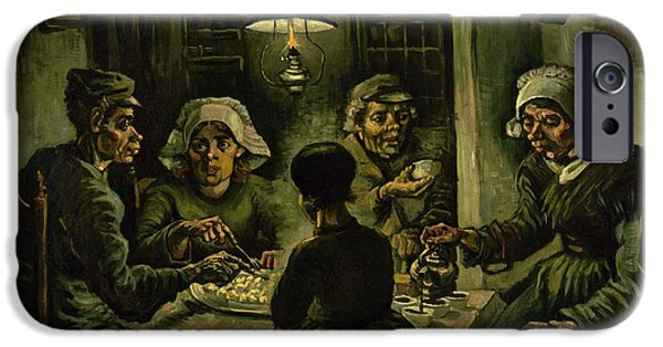 The Potato Eaters, 1885 IPhone 6s Case by Vincent Van Gogh