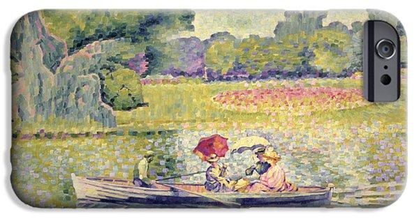 The Promenade In The Bois De Boulogne IPhone 6s Case by Henri-Edmond Cross