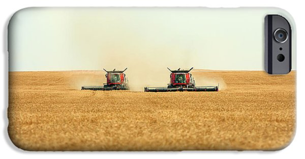 Twin Combines IPhone Case by Todd Klassy