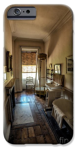 Victorian Bathroom IPhone Case by Adrian Evans