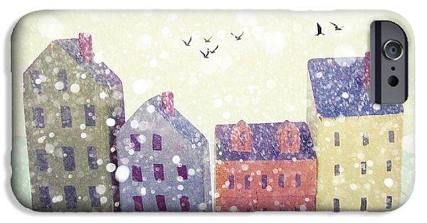 Winter In Nantucket IPhone Case by Amy Tyler