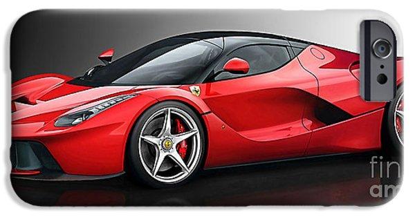 Ferrari Laferrari IPhone 6s Case by Marvin Blaine