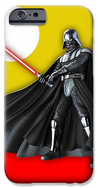 Star War Darth Vader Collection IPhone Case by Marvin Blaine