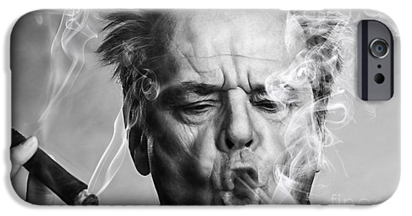 Jack Nicholson Collection IPhone 6s Case by Marvin Blaine