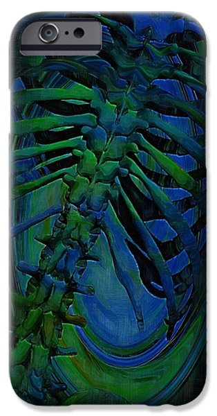 Torso Skeleton IPhone Case by Joseph Ventura