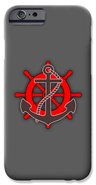 Nautical Collection IPhone Case by Marvin Blaine