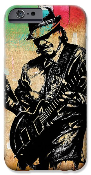 Carlos Santana Collection IPhone 6s Case by Marvin Blaine