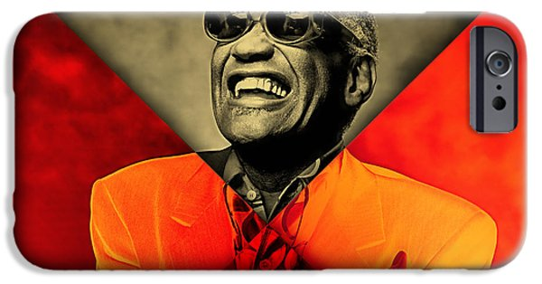 Ray Charles Collection IPhone 6s Case by Marvin Blaine