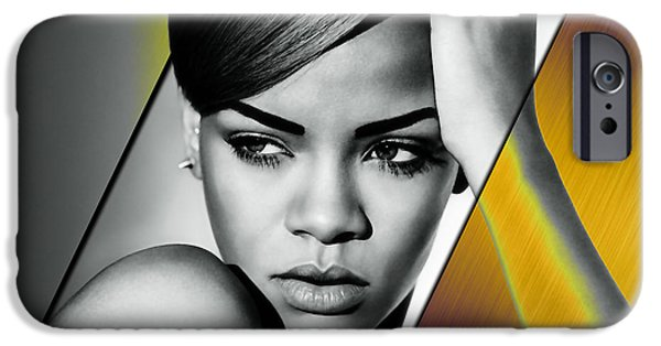 Rihanna Collection IPhone 6s Case by Marvin Blaine