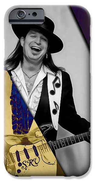 Stevie Ray Vaughan Collection IPhone Case by Marvin Blaine