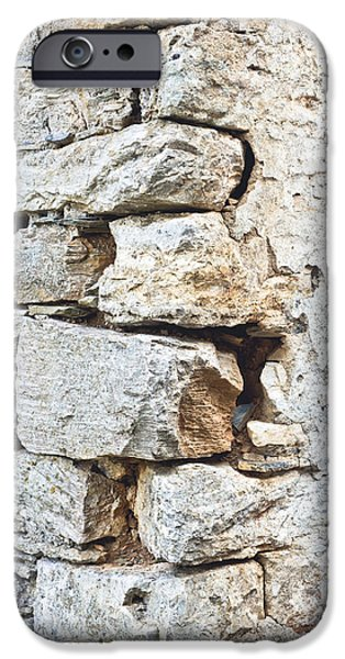 Stone Wall IPhone Case by Tom Gowanlock